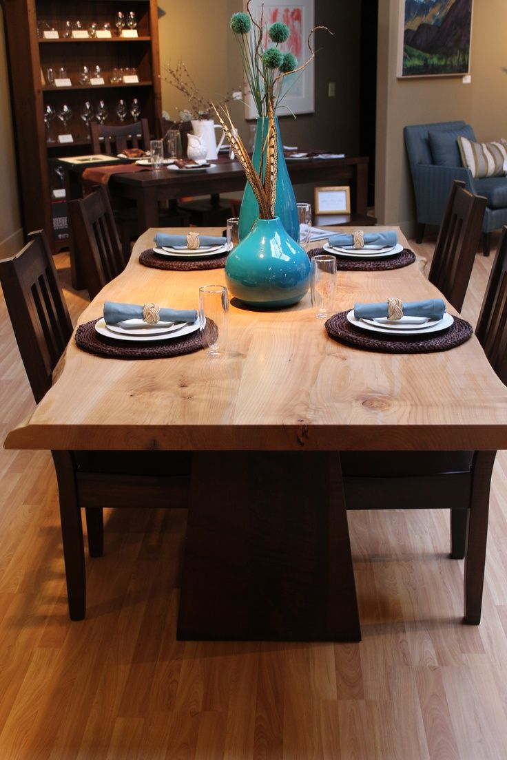 Modern country dining room - Custom Sized Natural Edge Dining Table By Live Edge Design Modern Countrymodern