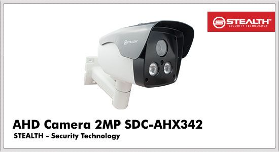 AHD Camera 2MP SDC-AHX342