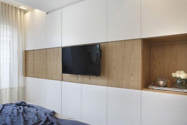 Apartamento integrado (Foto: Denílson Machado/Divulgação)  ILUMINAÇÃO