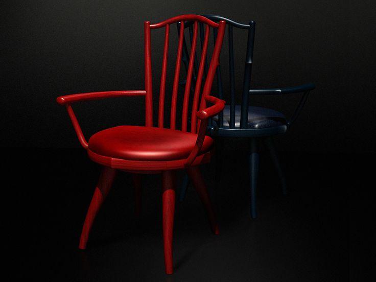Rose - arm chair   Designer : Youngchoul Lee Material : painted wood, leather Dimension : W 585, H 810, D 520 BU Atelier www.BU-Atelier.com Bemiel union www.Bemiel.com  Phone. +82-2-325-3254  e-mail. bemiel@bemiel.com