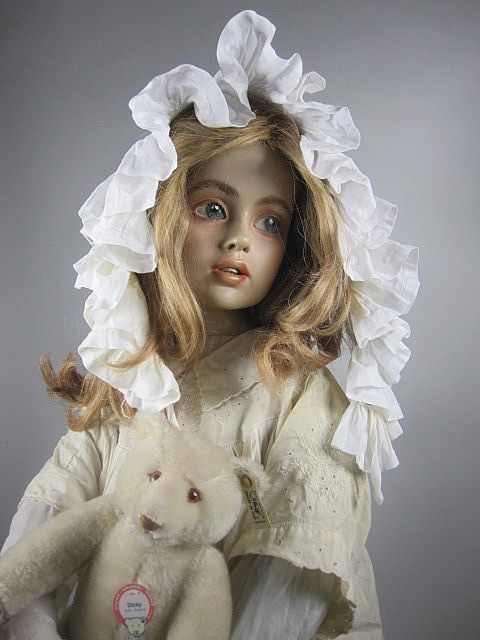 Vintage Child Mannequin Dreaming Doll French from bridgetscc on Ruby Lane