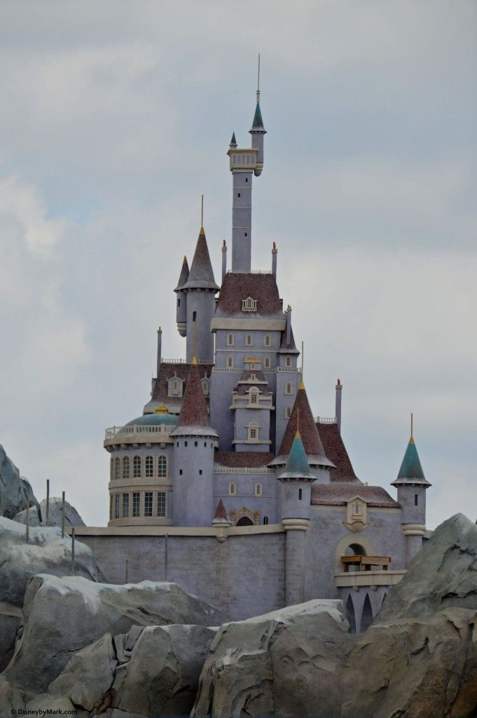 Beast's Castle at the New Fantasyland Walt Disney World's Magic Kingdom