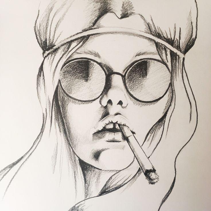 Pencil portrait   Illustration