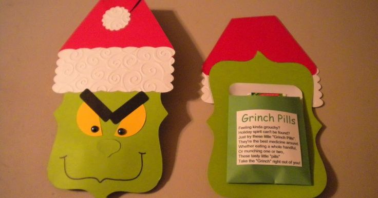 For Day 10, I have some Grinch Pills to share with you.  I made these to be some funny stocking stuffers.  I am giving one to my dad.  Also,...