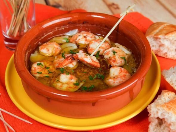 Garnelen in Knoblauchöl http://www.fuersie.de/kitchen-girls/rezepte/blog-post/rezept-fuer-gambas-in-knoblauchoel