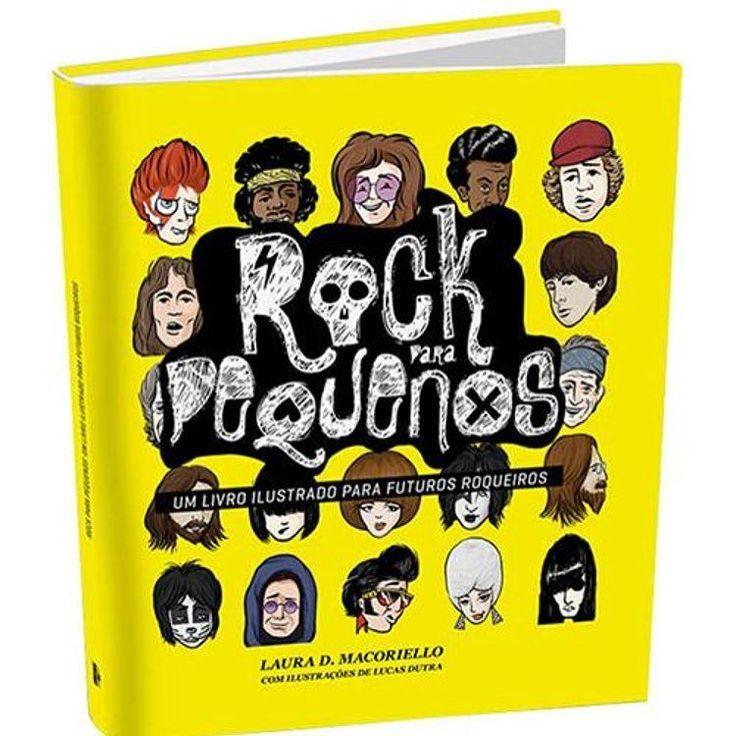 """O dia de hoje me lembrou desse livro uma super ideia de presente. Pensando nas crianças e agradando os pais também!  """"Rock Para Pequenos  Um Livro Ilustrado Para Futuros Roqueiros"""" é o primeiro lançamento de literatura infantojuvenil da Edições Ideal. A temática relacionada ao universo do rock and roll vem para honrar a vocação e o direcionamento da editora mostrando que a tradição dos bons sons pode ser cultivada desde o berço.  O livro nasceu da união entre duas paixões: rock e crianças…"""