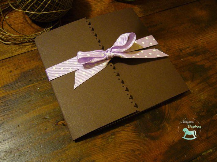 Wedding stationery :: liliac & brown :: autumn