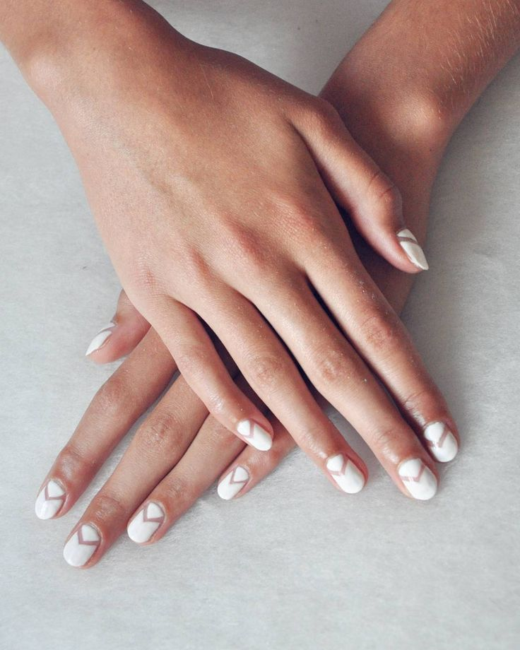 597 best kick ass nail art images on pinterest best nails nail 50 negative space nail ideas to copy right now sciox Images