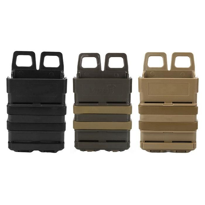 Sale 22% (6.99$) - Hunting Tactical Fast Mag Attach Belt Magazine Pouch 5.56 Molle Holster