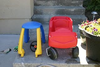 Cozy coupe makeover how-to