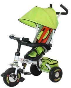 Trójkołowy rowerek 3 in 1 T017 stworzono z myślą o komforcie, bezpieczeństwie jazdy oraz radości dziecka. #Supermisiopl #rowerki