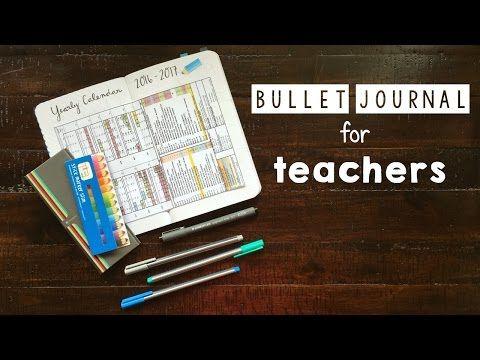 How to Use Your Bullet Journal for Lesson Plans!   Bullet Journal for Teachers! - YouTube