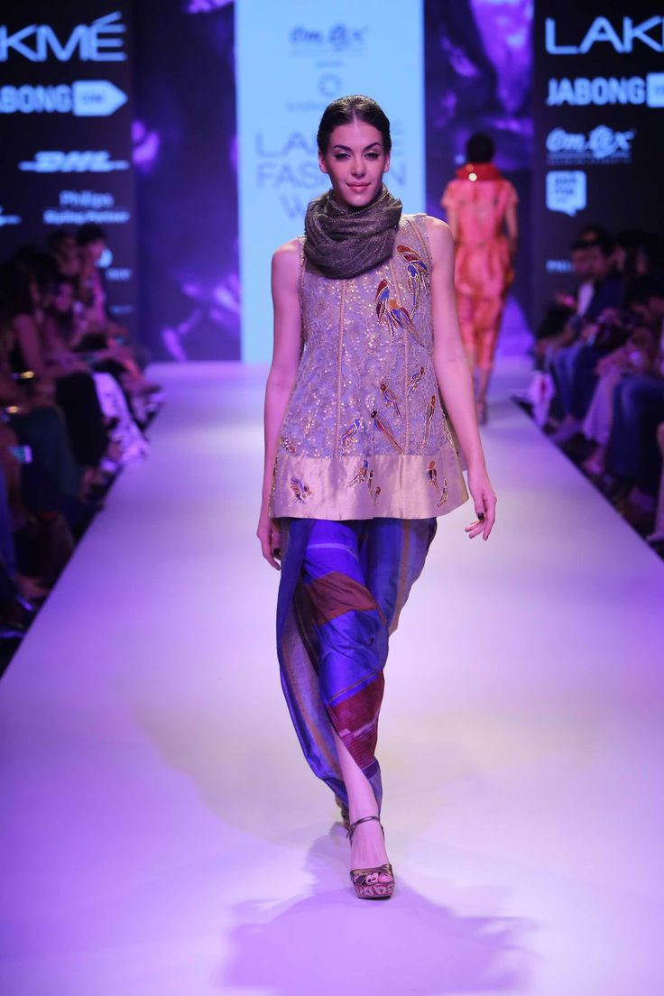 Lakmé Fashion Week – KRISHNA MEHTA AT LFW WF 2015