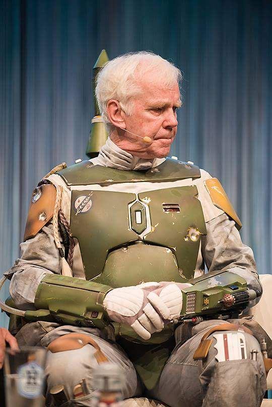 A New Hope (for the 501st) — Jeremy Bulloch back in his Fett costume for...