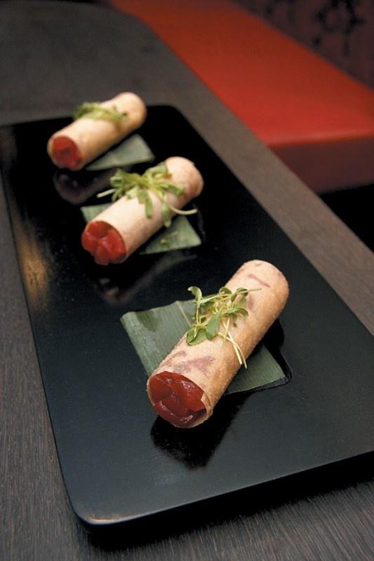Buddakan Tuna Tartare Spring Rolls...so wish I had some of these right now! Tummy!