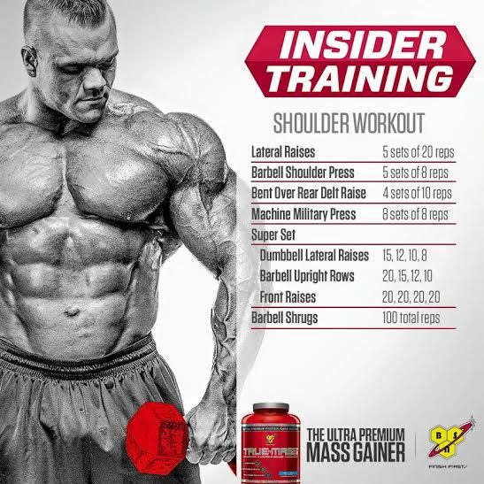 It's Hump Day so let's add some size to those shoulders. Try this workout from BSN athlete Dallas McCarver to build those boulder shoulders#PUSH #WorkoutWednesday #shoulders