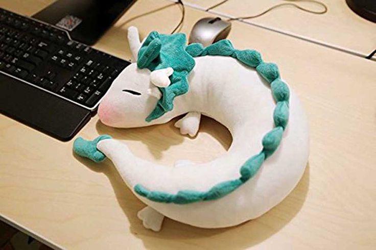 Spirited Away Haku Neck Pillow
