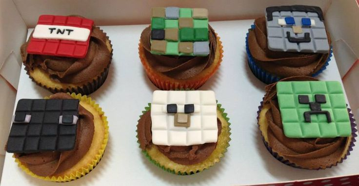 Minecraft Cupcakes | Cupcakes | Pinterest | Cupcake ...
