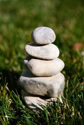 How to Make an Irish Garden-sized Stone Cairn from eHow