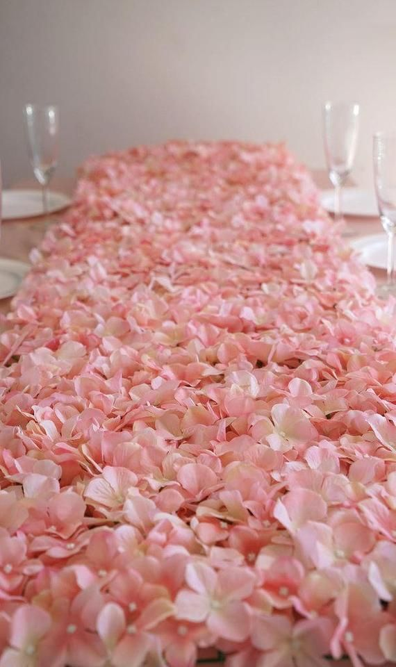 4 Blush Ivory Flower Wall Pink Panels Hydrangeas Artificial Floral Wedding Decorations Fake Greenery Silk Square Backdrop Wholesale Fake Flowers Decor Flower Wall Wedding Flower Wall