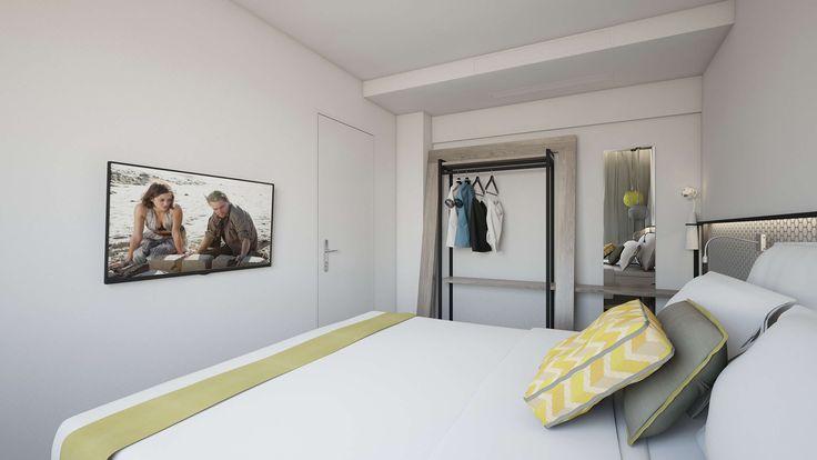 Aspalathos Junior Suite - Bedroom, Elakati Luxury Boutique Hotel, Rhodes , Greece