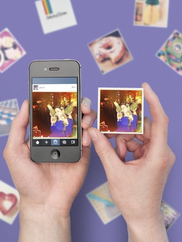 Turn your holiday Instagrams into cool little magnets!