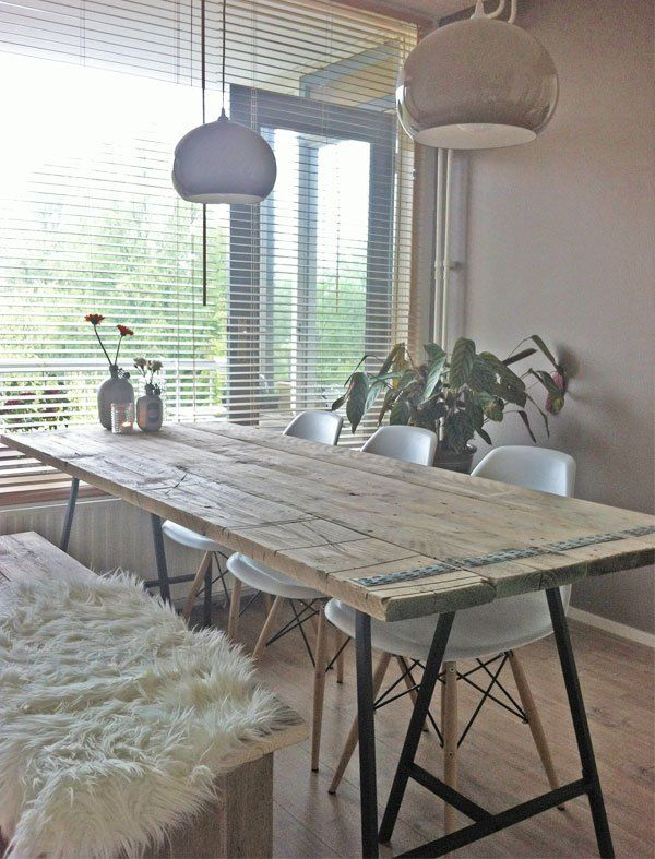 Preview Diy Tafel Black Chairs Industrial And Diy