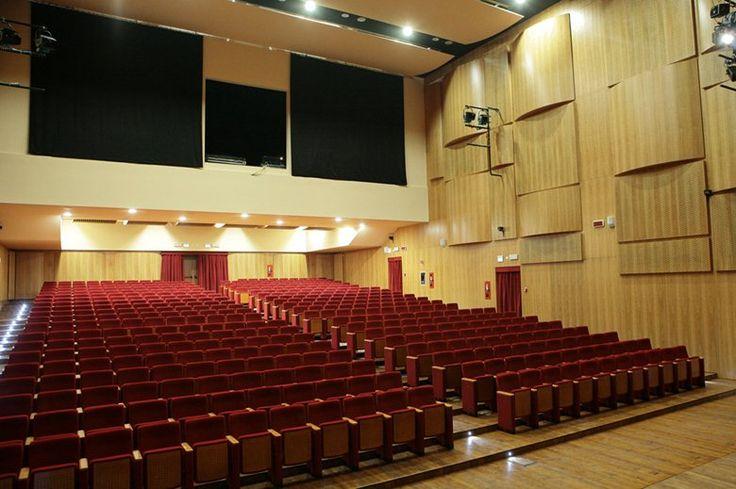 """Nuovo Teatro Comunale """"Luigi Russolo"""", Portogruaro, 2009 - Studio Amati Architettura, Alfredo Amati, Federica Finanzieri, Marta Silvestrini"""