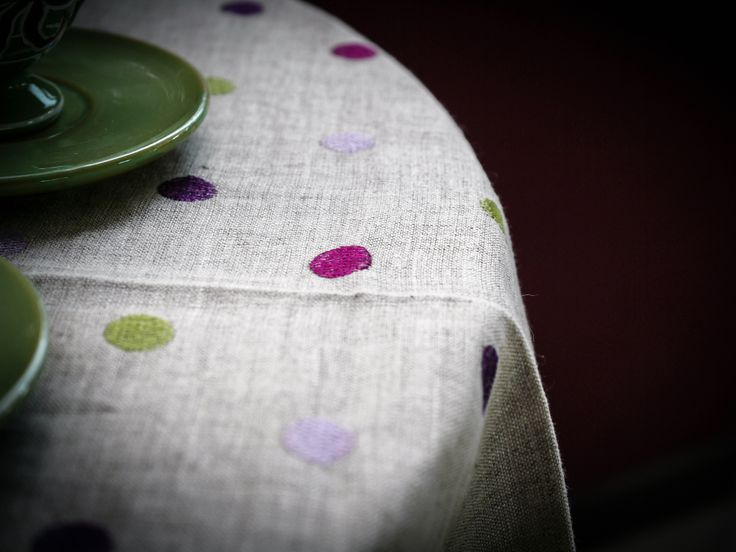 Dotted Table Linen
