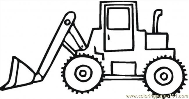 dump truck coloring pages online - photo#23