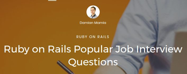 Ruby on Rails Popular Job Interview Questions https://www.nopio.com/blog/ruby-rails-popular-job-interview-questions/?utm_campaign=crowdfire&utm_content=crowdfire&utm_medium=social&utm_source=pinterest