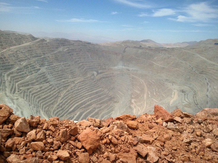 Chuquicamata en su fase 42. Foto de Mauricio Zarricueta Matus.