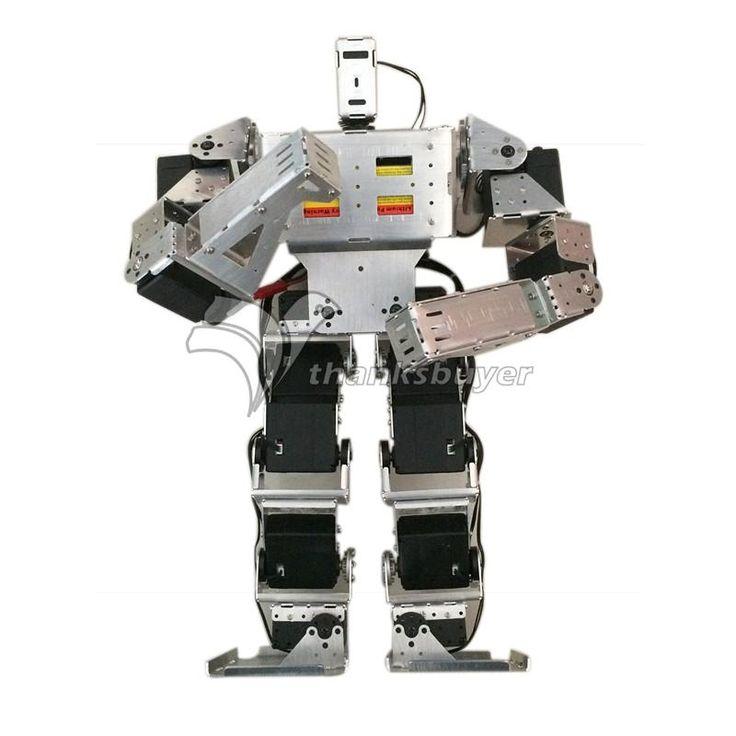 431.07$  Watch here - http://aliafx.worldwells.pw/go.php?t=32526776960 - 19 DOF Biped Robot Humanoid Anthropomorphic Combat Battle Robot Kit Height 38cm 431.07$