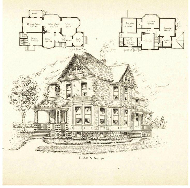 Original Victorian House Plans