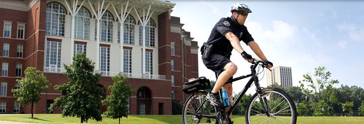 The University of Kentucky Police link that provides information about everything the campus police does to ensure a safe environment, ranging from UK Alert to the Safe Campus Walking Routes.  http://www.uky.edu/Police/