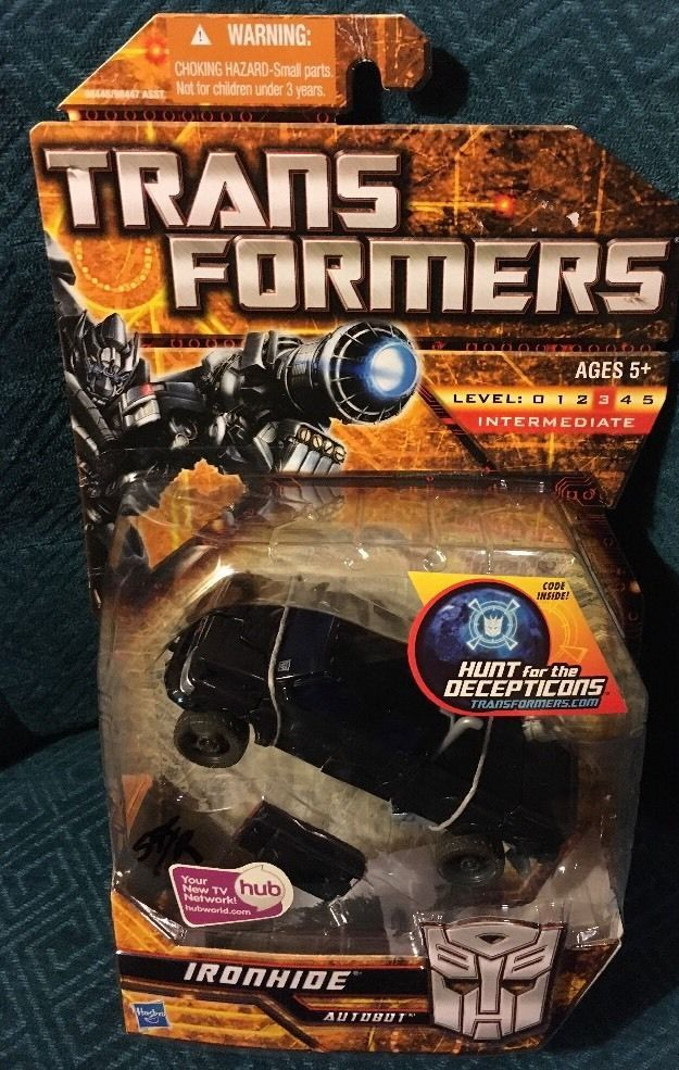 Hasbro Transformers Ironhide Deluxe class Movie Collection - Ironhide  #Hasbro