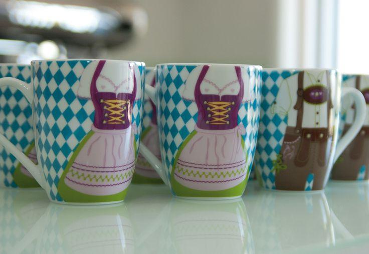 Cup for coffee, tea or a lot more / Bavaria Tasse #Bayern<3 #Tracht # Dirndl #Lederhose