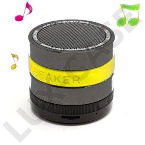 Super Bass (Keltainen) Bluetooth Kaiutin Mikrofonilla