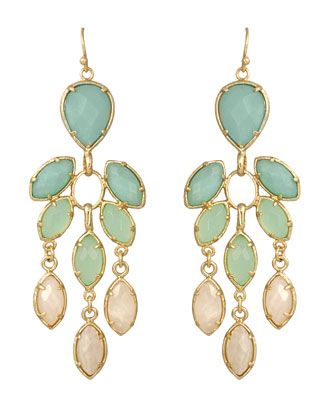 Kendra Scott - Multi-Stone Chandelier Earrings - Last Call