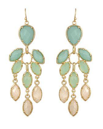 Kendra Scott - Multi-Stone Chandelier Earrings - Last Call