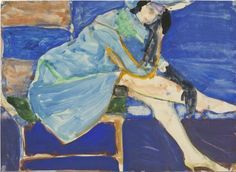 Richard Diebenkorn (1922-1993) Seated Woman, 1965