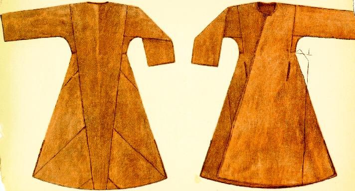 caftan/viking coat - works 4 early/north Rus as well.  Not sure where the pattern comes from (but it looks similar to a 18th century ottoman coat).  but it looks like it would be flattering.
