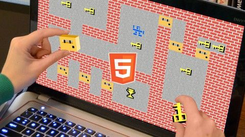 How to Program Games: Tile Classics in JS for HTML5 Canvas. Learn to code tile-based worlds and related core gameplay for genres like arcade, overhead racing, and puzzle adventure.