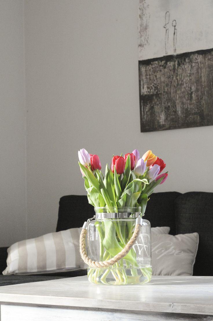 Tulppaanit, olohuone
