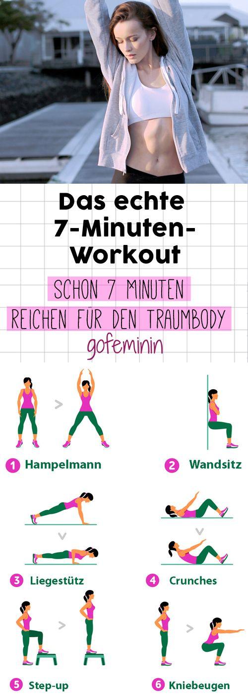 Schnell & effektiv: Dieses 7-Minuten-Workout gilt als Geheimwaffe gegen Fettpolster!