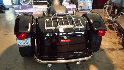Harley Davidson Dealers Near Me >> New luggage rack on my Freewheeler. | Harley Davidson Freewheeler | Pinterest | Luggage rack and ...