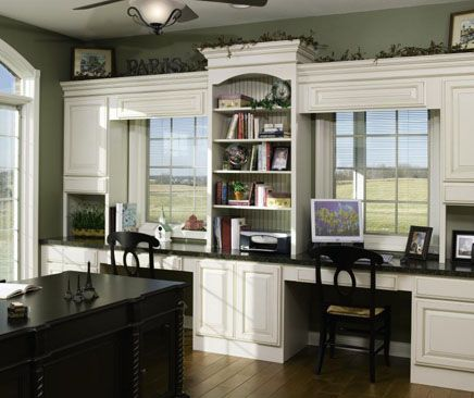 Charmant Best 25+ Office Cabinets Ideas On Pinterest | Office Built Ins, Home Office  Cabinets And Built In Desk