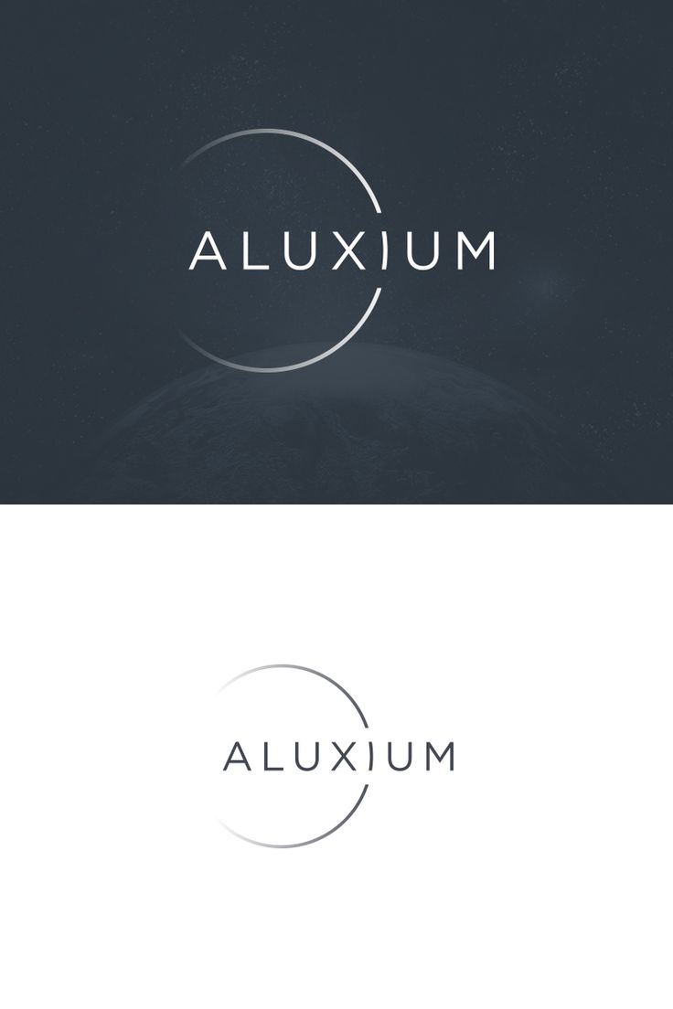 The logo from a branding project I did for Aluxium- an australian lighting brand. #logo #branding #wordmark