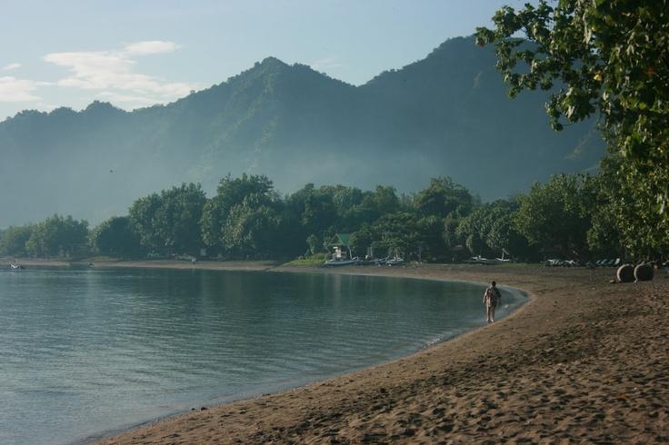 The beautiful bay of Pemuteran, so peaceful