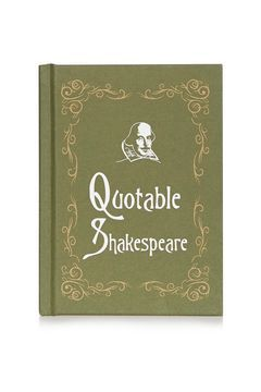 Quotable Shakespeare Book